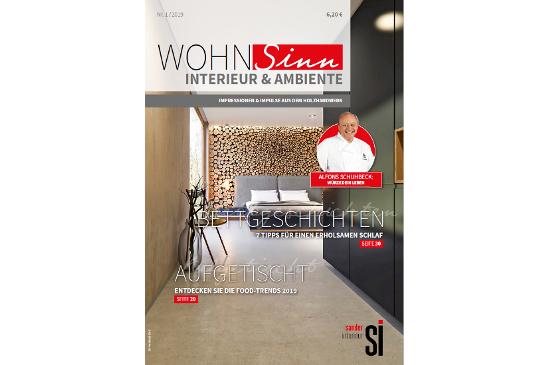 WohnSinn 1-2019 Cover
